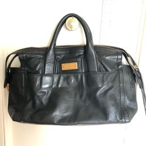 Marc by Marc Jacobs Black Leather Tote